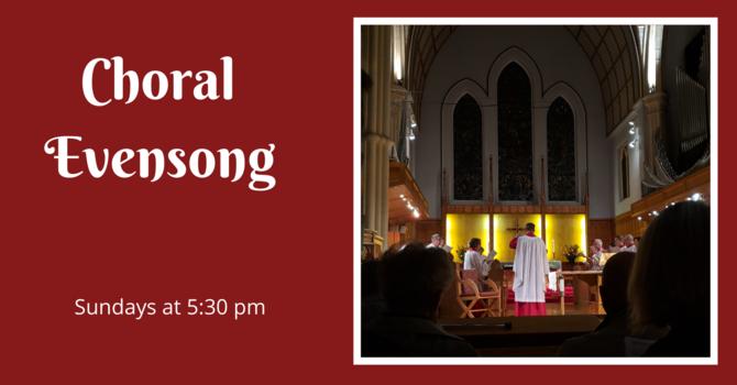 Choral Evensong - October 25, 2020 image