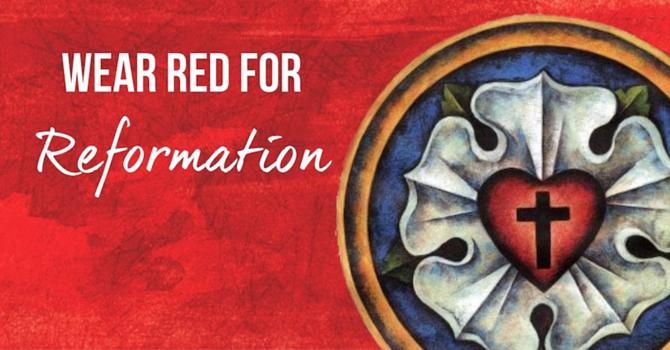 Reformation Sunday image