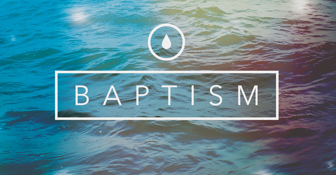 Baptisms @ Retreat this Weekend! image