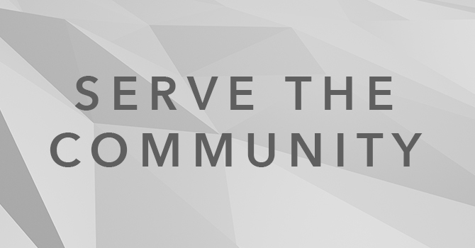Serve In The Community