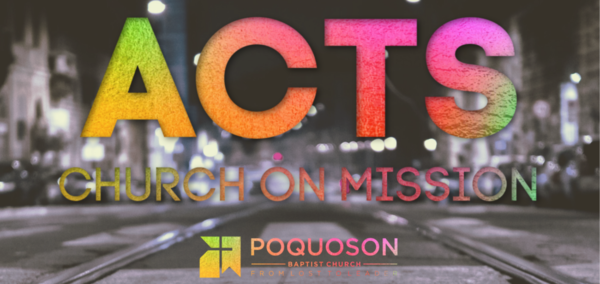 Acts: Church On Mission