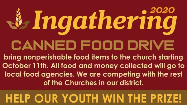 In-gathering Food Drive
