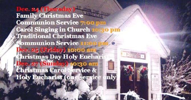 Christmas Eve Carol Service & Mass