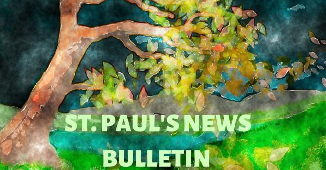 St. Paul's October 6th  News Bulletin image