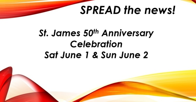 St. James 50th Anniversary