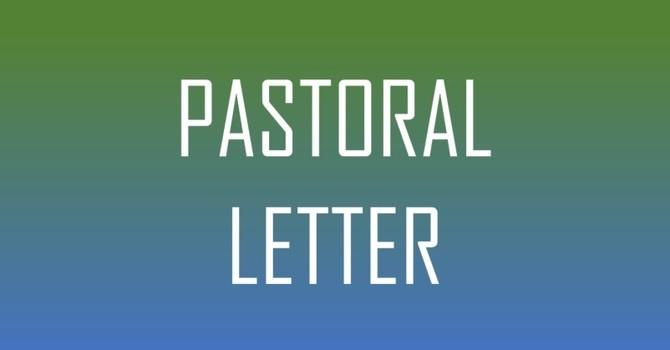 Pastoral Letter March 25, 2020 image