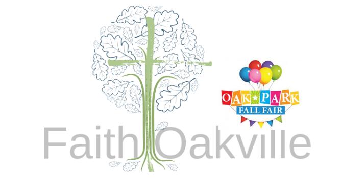 Faith Oakville at Oak Park Fall Fair!