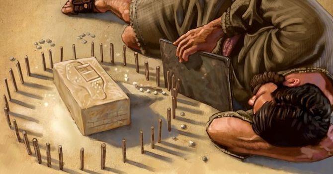 Ezekiel Prophecies on His Side