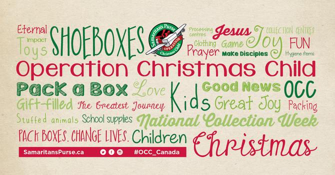 Operation Christmas Child Shoebox image