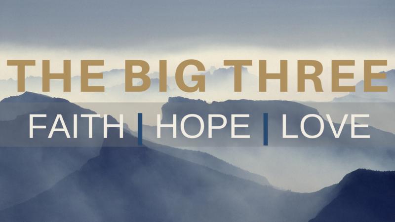 The Big Three - Week 3