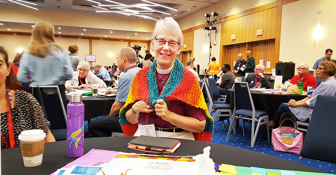 Prayer shawl ministry a vibrant, active blessing in textiles image