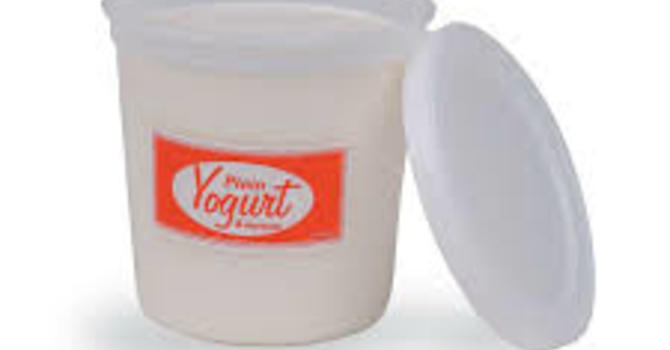 We're taking clean yogurt containers! image