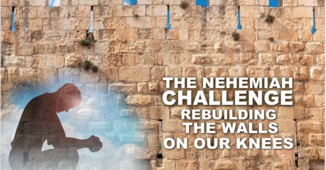 Let's Rebuild! part 1 - Rebuilding starts with Prayer