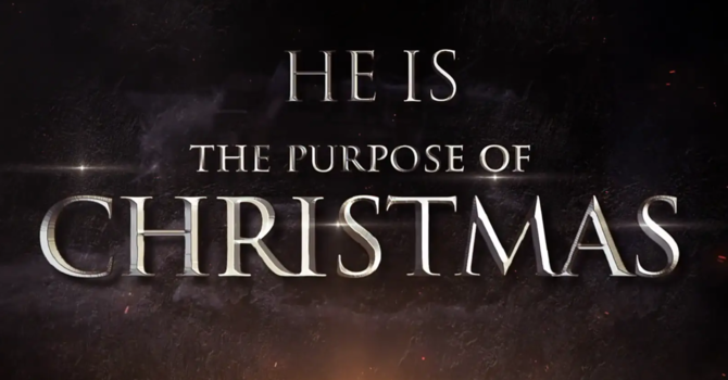The Purpose of Christmas 1- Hope: God is with us