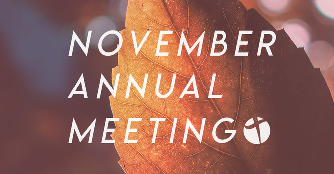 November Annual Meeting