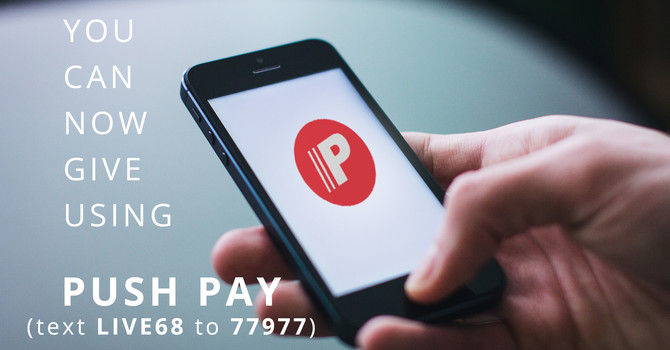 PushPay is here! image