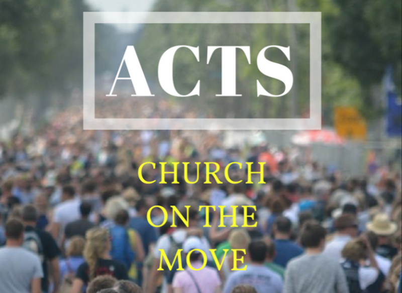 When God Does Something Great Church On The Move Book Of Acts