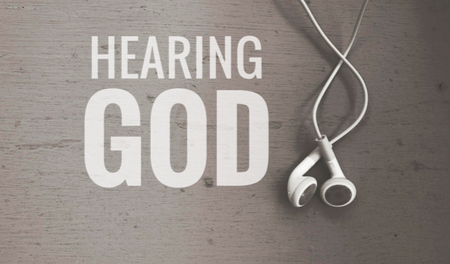 Audio from Hearing God Series - Week Four