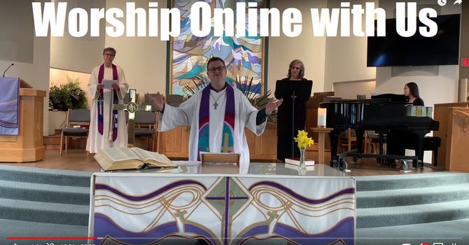 Join Us for Online Worship & Virtual Coffee Hour image