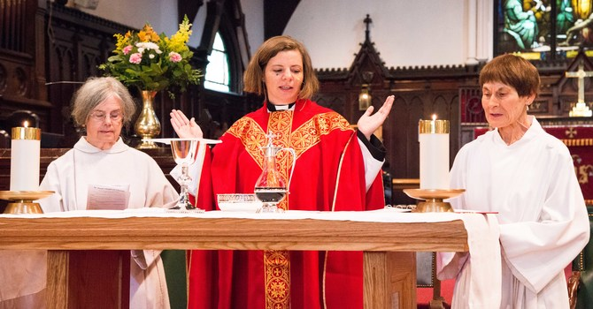 The Rev. Jessica Schaap, the 14th Rector of St. Paul's Anglican Church