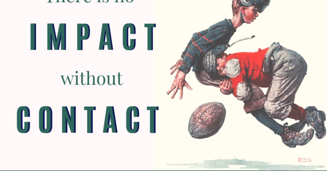 There Is No Impact Without Contact