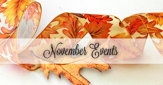 Weekly Events in November image