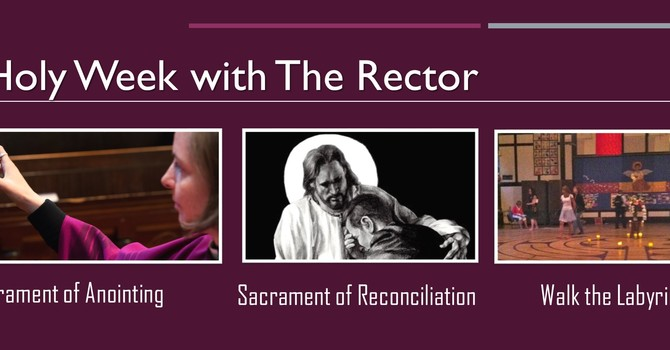 Holy Week with the Rector