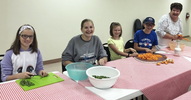 St. John's Reaches Out to Onoway Community image