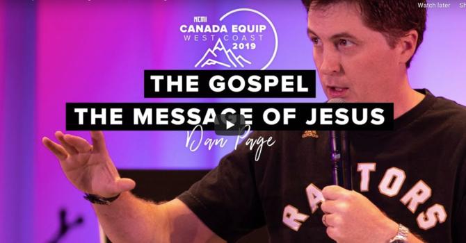 The Gospel, The Message of Jesus