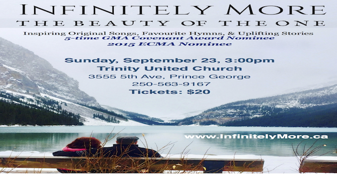 Infinitely More - September 23 @ 3pm image