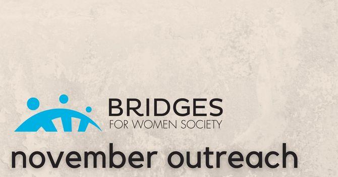 November Outreach: Bridges for Women image