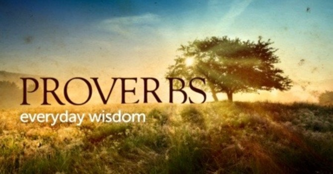 New Proverbs Series: Living Wisely In God's World image