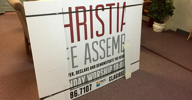 New Sign Arrived! image