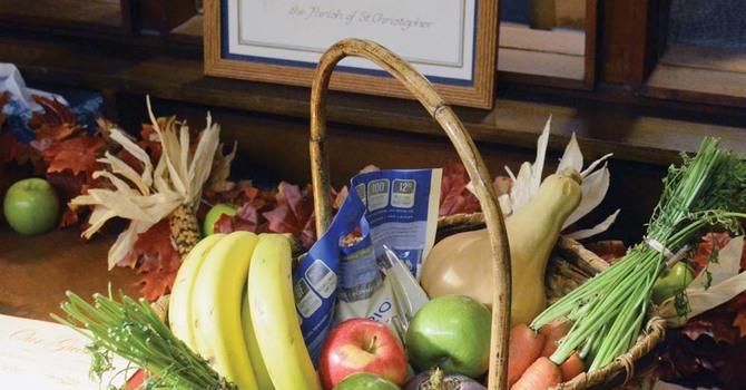 Harvest Thanksgiving at St. Christopher's, WV