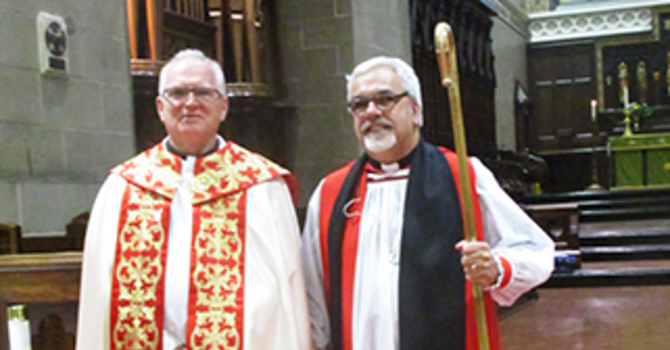 Sandy MacPherson becomes Archdeacon of Chatham image