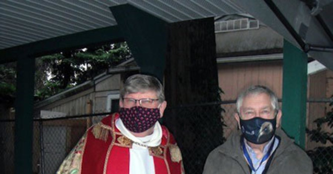 ODNW Investiture Outside image