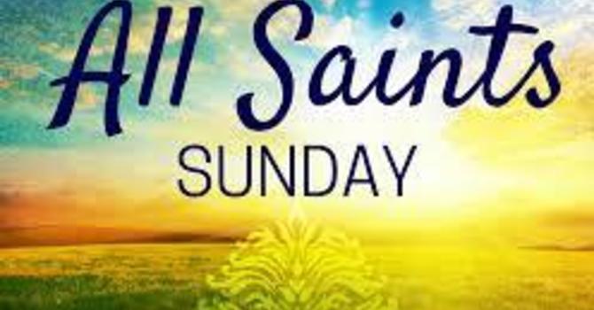 Pentecost 22 & All Saints Day image