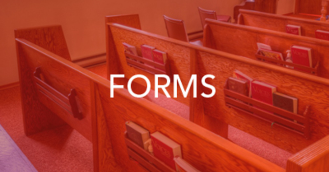 Forms, Guidelines and Policies