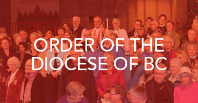 Order of the Diocese of British Columbia