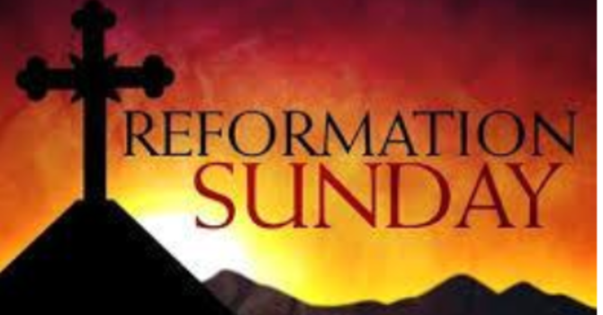 Reformation Sunday Relentless Reformers