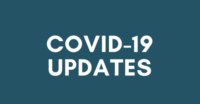 Updates to our ministry during COVID 19 image