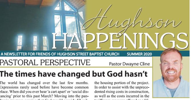 Hughson Happenings Newsletters image