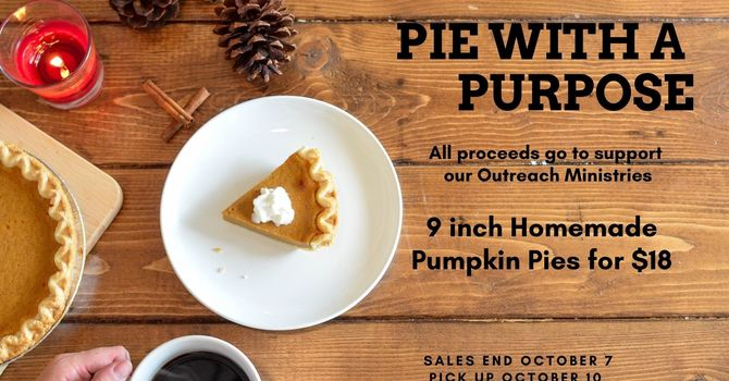 Fundraiser: Pie With A Purpose image