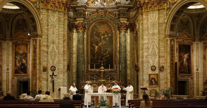 Daily livestream Mass in English