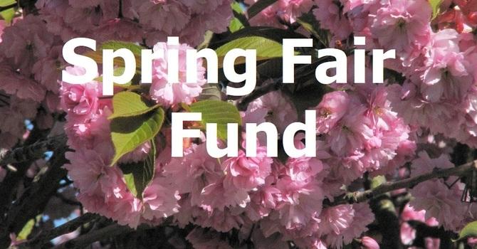 Spring Fair Fund Update - $4,501.45 image