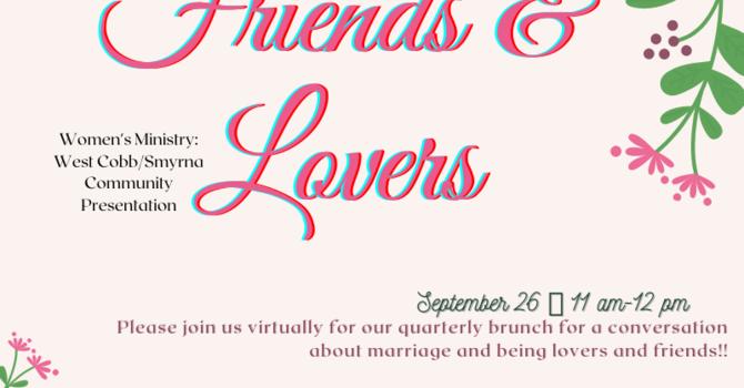 Married Women's Brunch: Friends & Lovers image