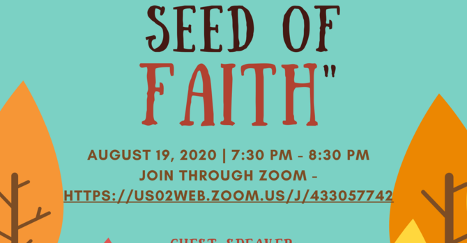 Just a Mustard Seed of Faith image