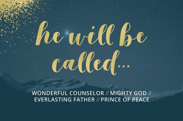 He Will Be Called