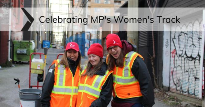 Celebrating MP's Women's Track image