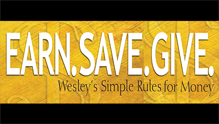 Earn. Save. Give.